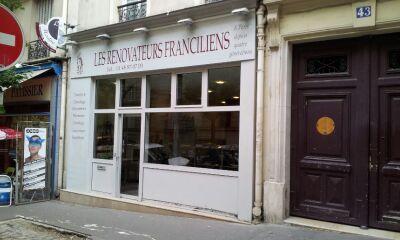 Vitrine Les Rénovateurs Franciliens