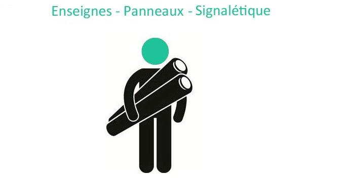 Enseignes panneaux signaletique